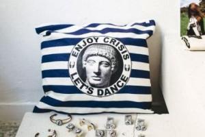 pillow-greek-souvenir