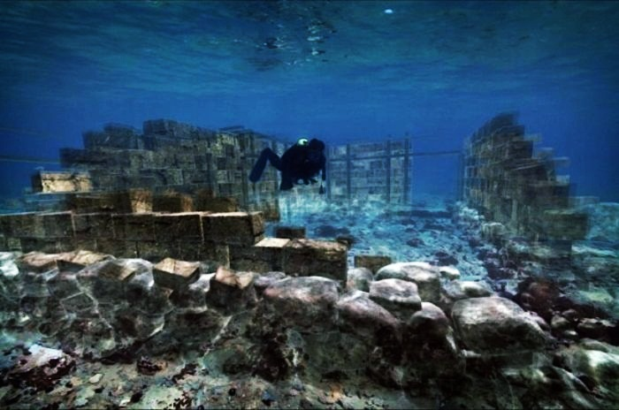 Pavlopetri the submerged city