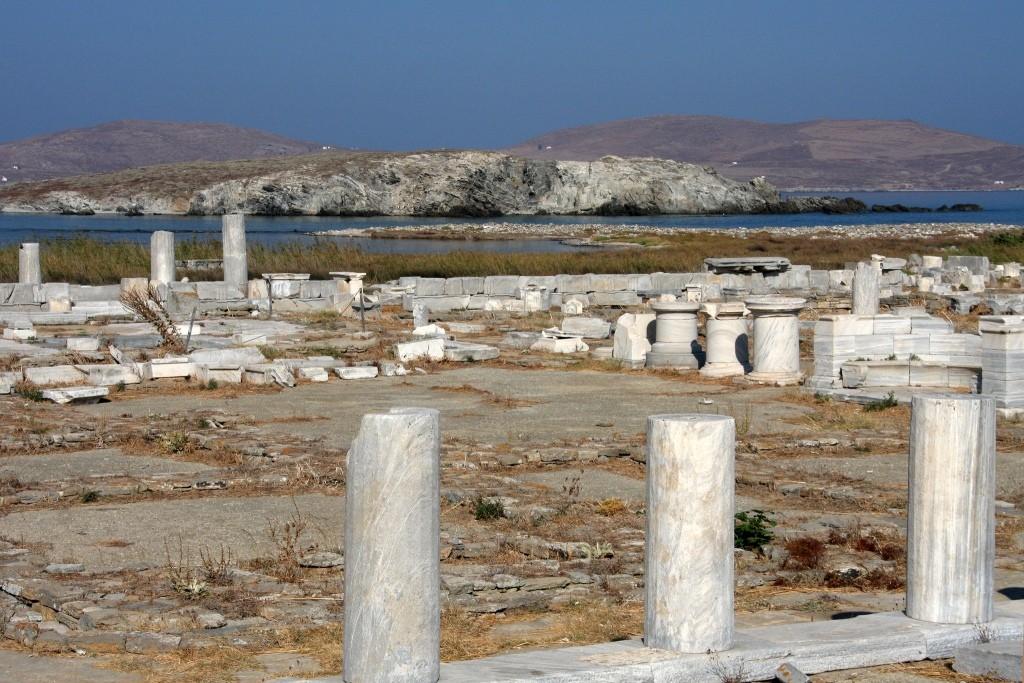delos sacred island myths and history