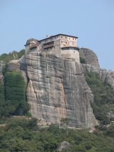Spiritual monasteries in Meteora