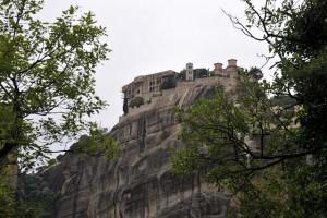 Meteora spiritual monasteries