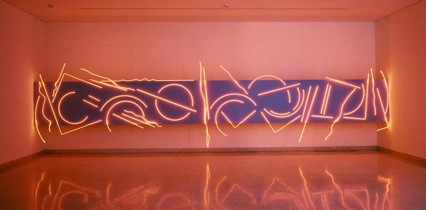 Stephen Antonakos exhibition