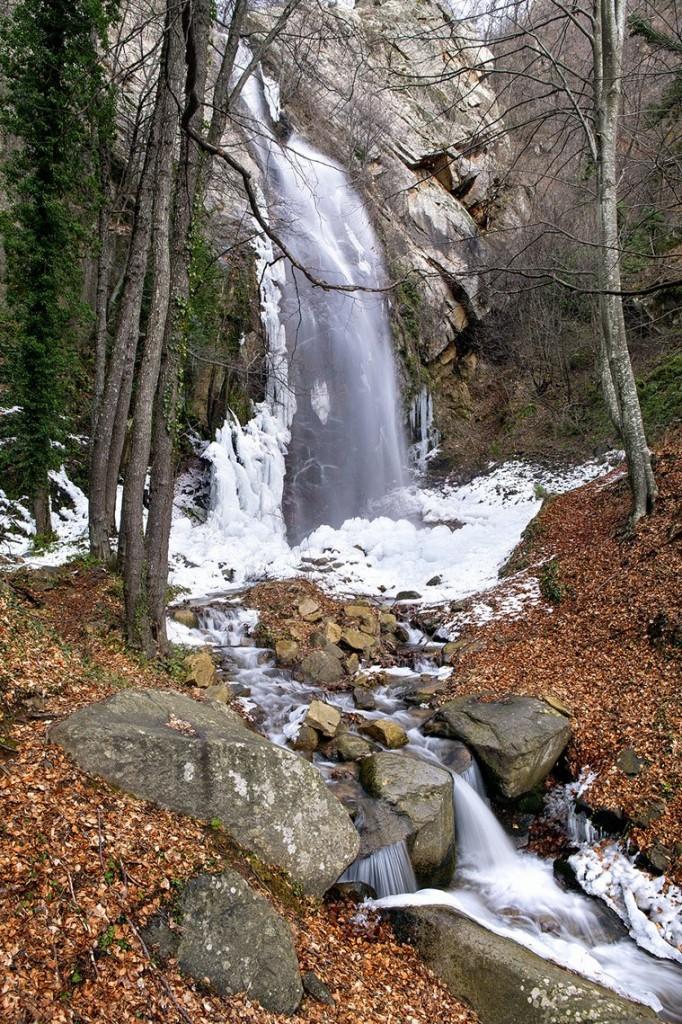 Belles waterfall Greece