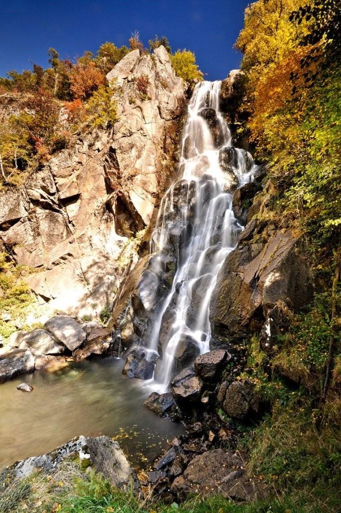 Lepida waterfalls Greece
