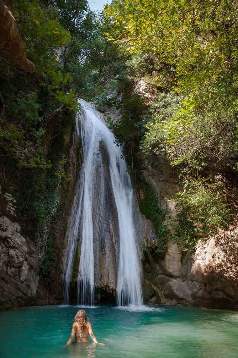 The Most Impressive Waterfalls In Greece