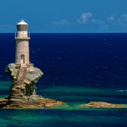 Lighthouse of Andros Greece