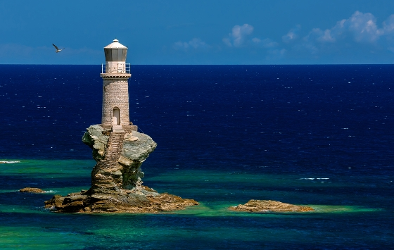 Top 10 lighthouses in Greece