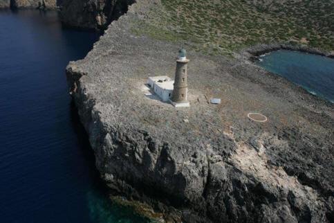 Lighthouse of Apolytares Greece