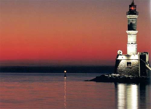 Lighthouse of Chania Greece