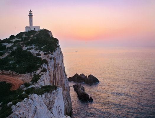 Lighthouse of Lefkada Greece