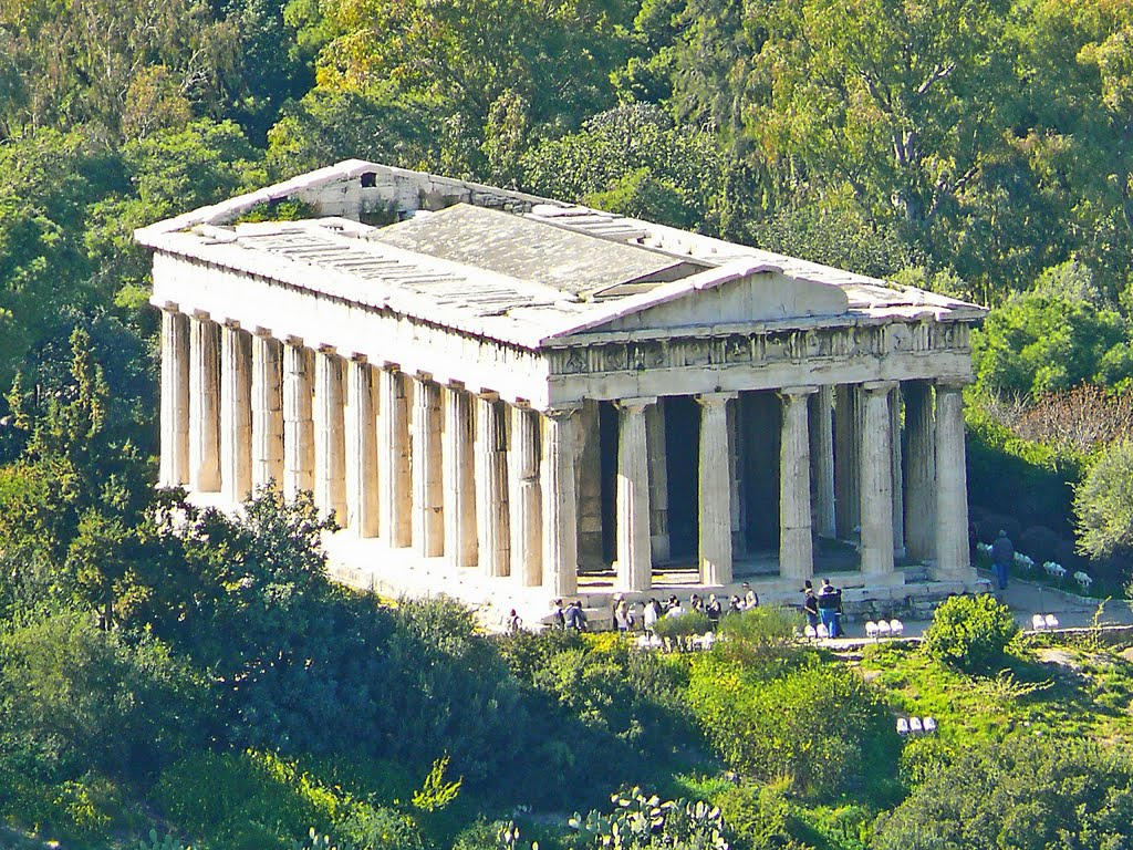 Ifaistos temple in Greece