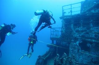 Shipwreck in Lichadonisia