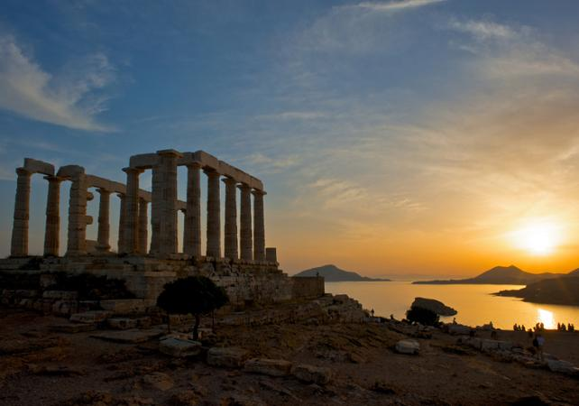 The most beautiful ancient Greek temples