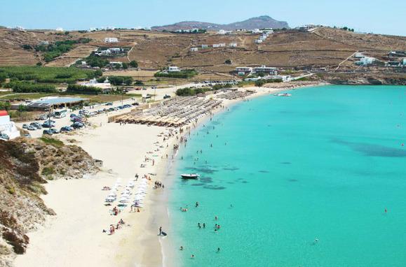 Kalo Livadi beach Mykonos